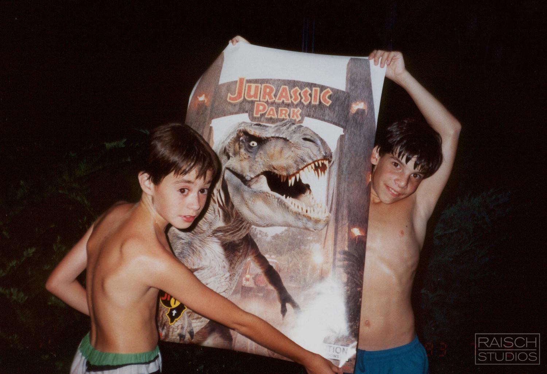 I due bambini che nel '93 rigirarono Jurassic Park