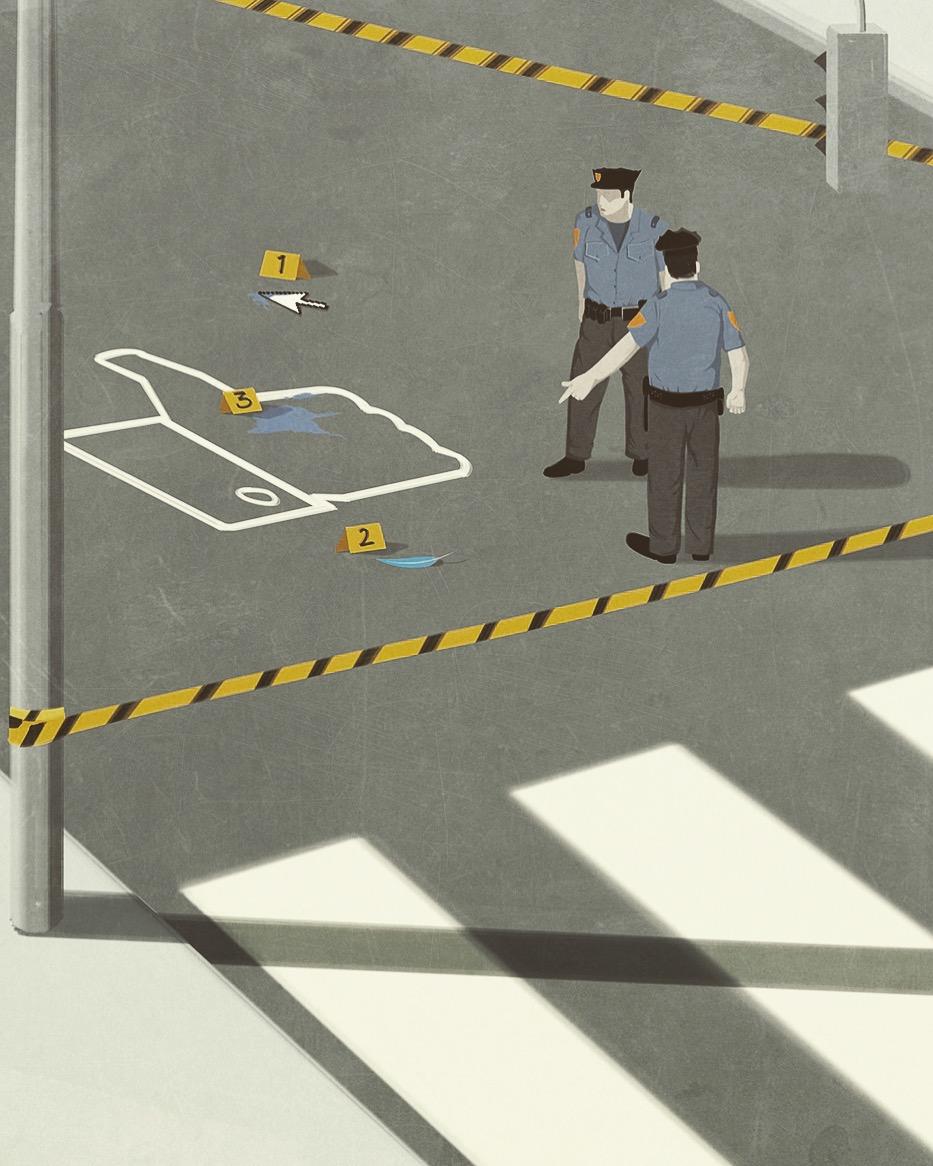 Le illustrazioni concettuali di Andrea Ucini | Collater.al