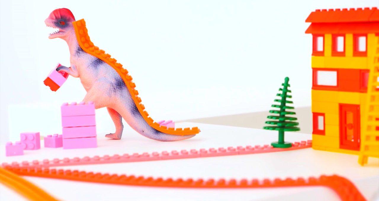 Nimuno Loops, il nastro adesivo per giocare con i Lego