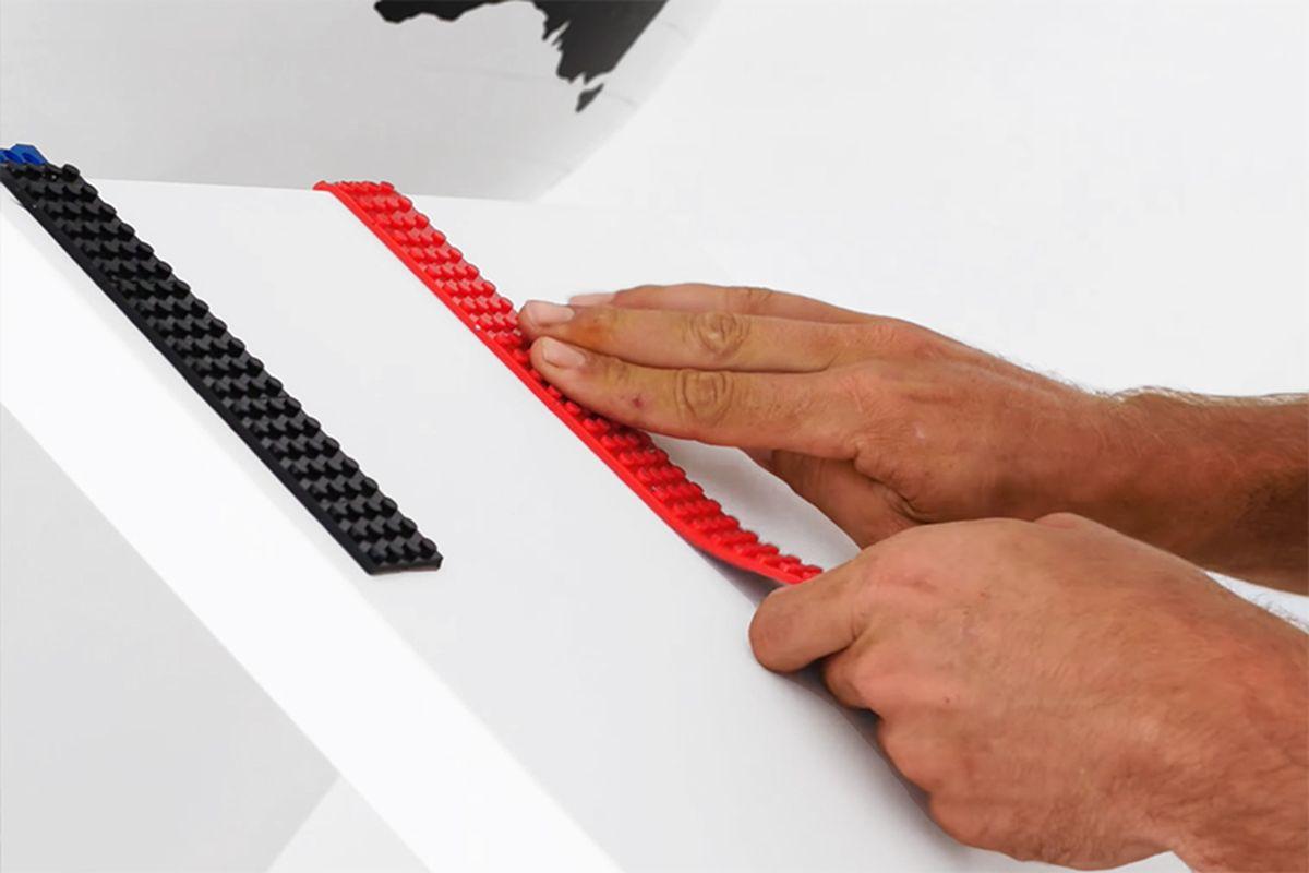 Nimuno Loops, il nastro adesivo per giocare con i Lego | Collater.al