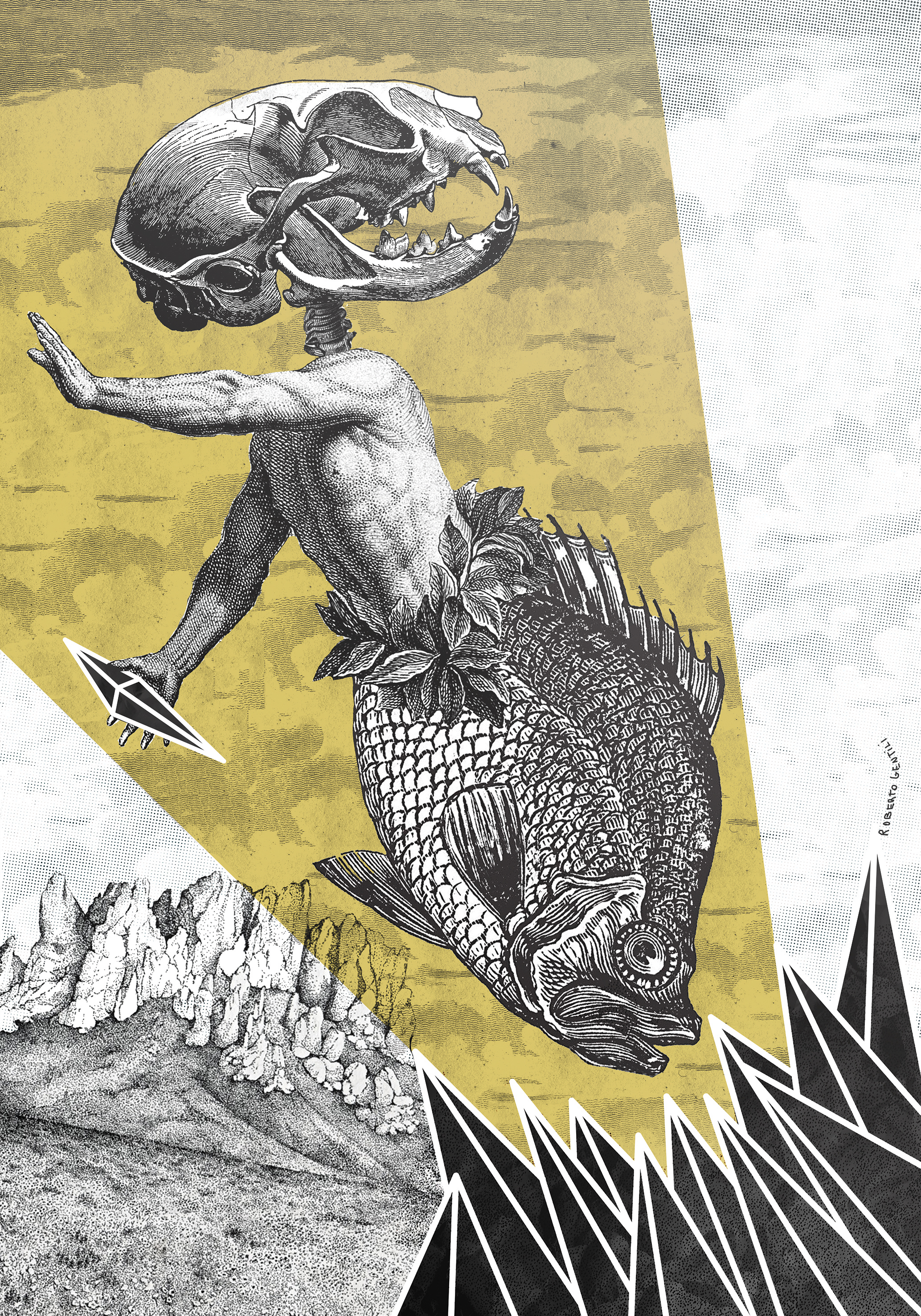 Visions, la visione post apocalittica nei poster di Roberto Gentili | Collater.al 1