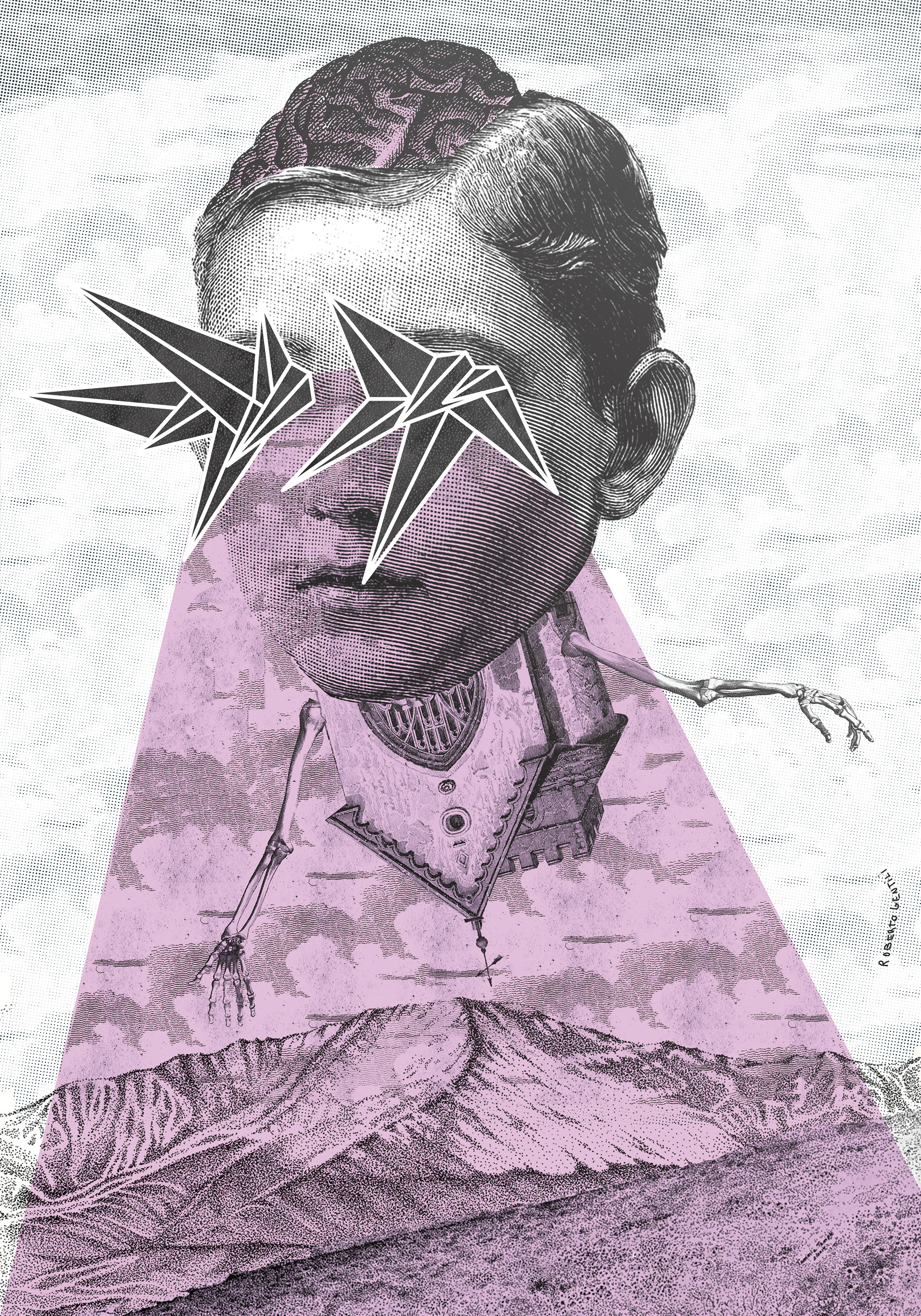 Visions, la visione post apocalittica nei poster di Roberto Gentili | Collater.al 3