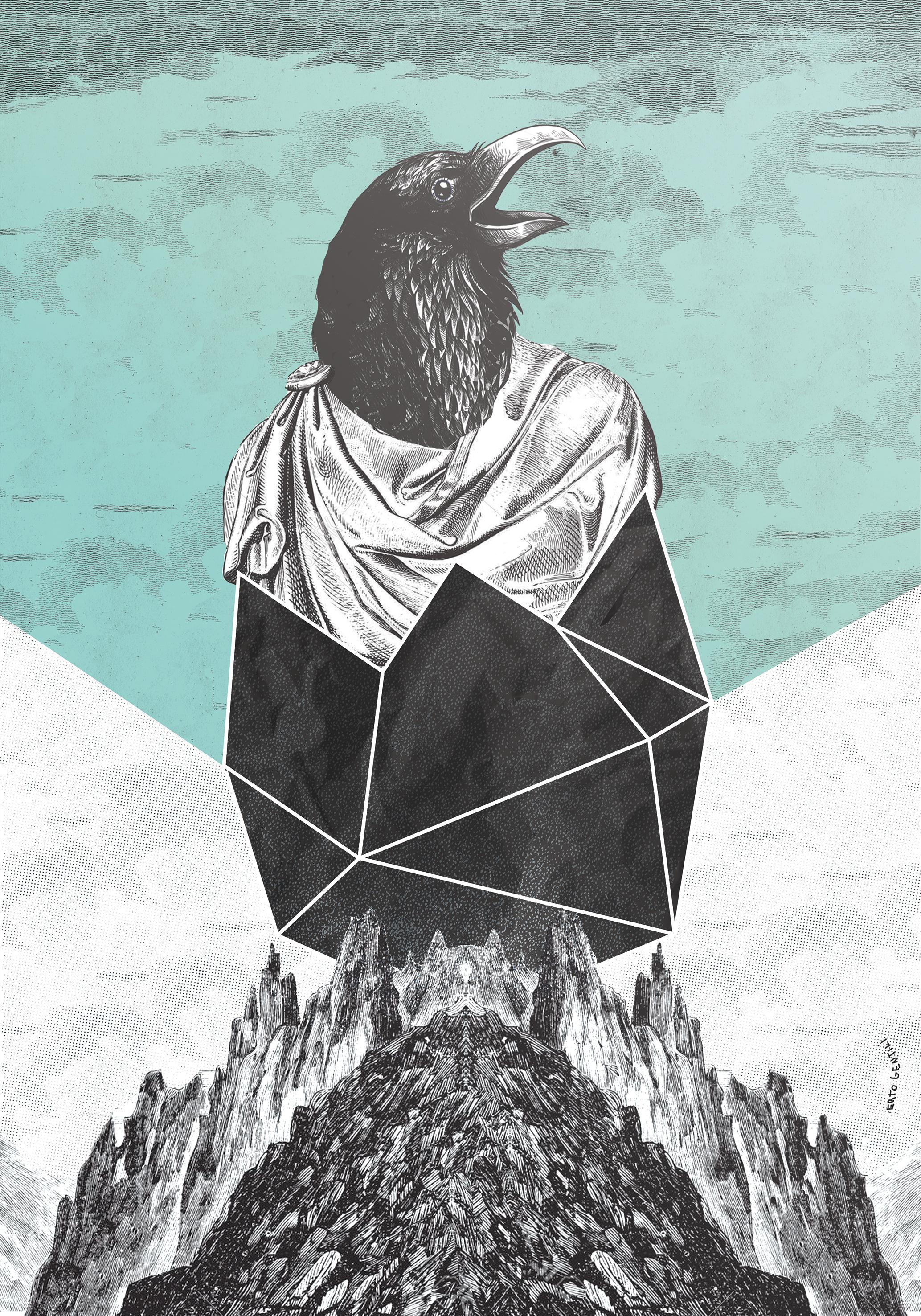 Visions, la visione post apocalittica nei poster di Roberto Gentili | Collater.al 6