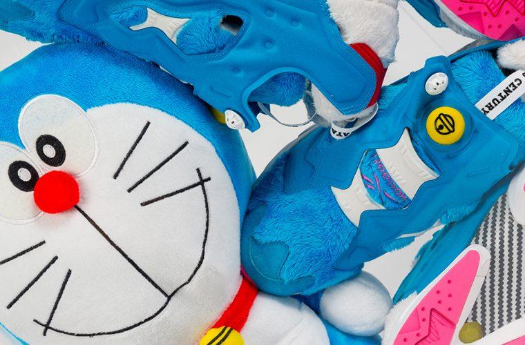 Reebok Instapump Fury turn into Doraemon