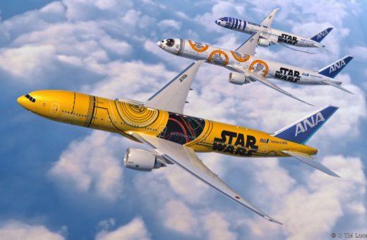 Ana airline presenta i nuovi Jet di Star Wars