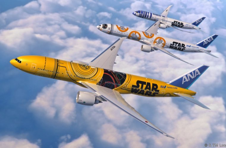 Ana Airline presents the new Jet inspired to Star Wars