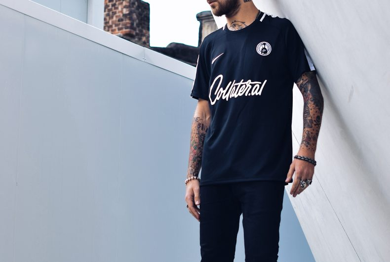 The new Calcetto Eleganza football jersey is finally out