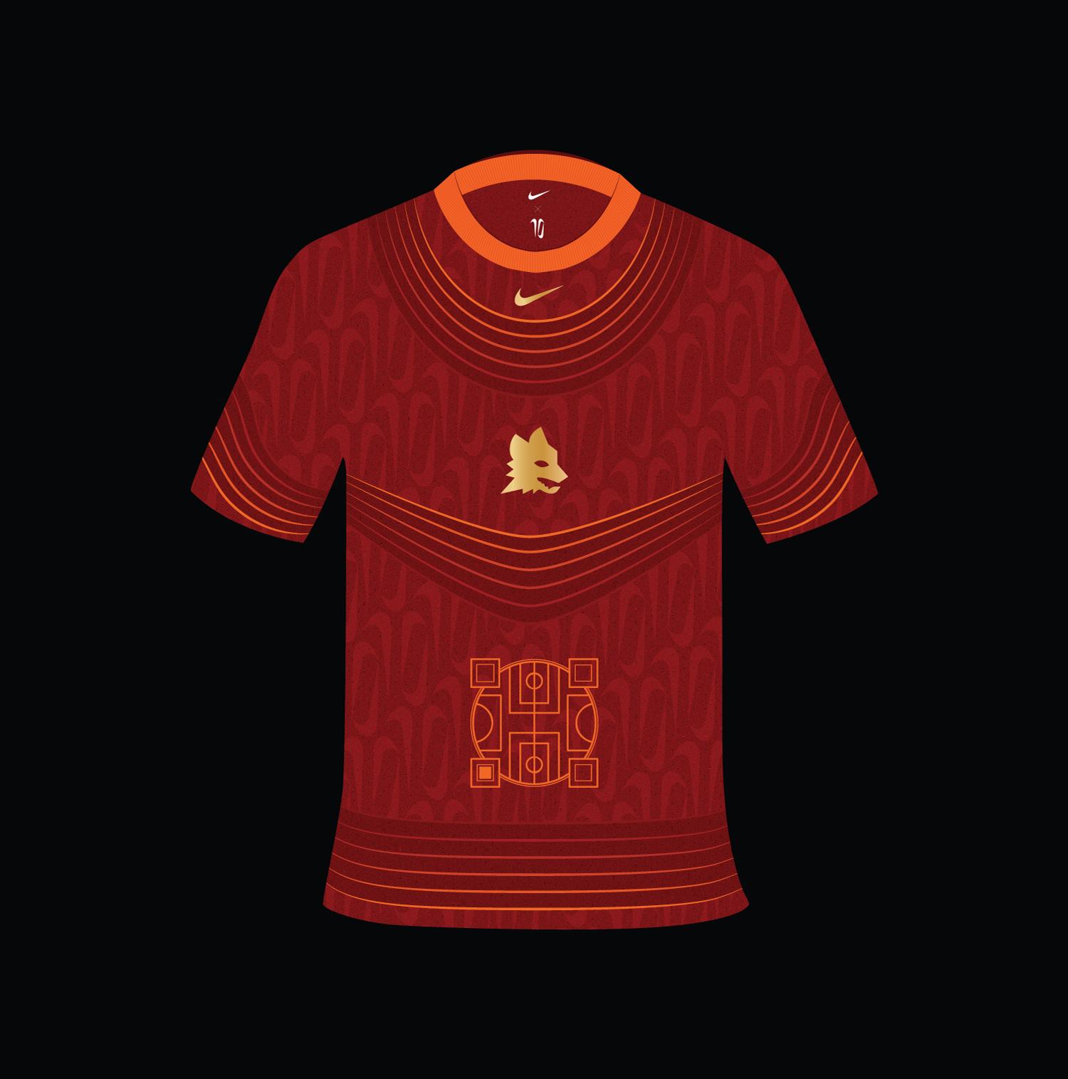 Tiempo Totti X Roma - Day 1 | Design: La jersey del futuro | Collater.al