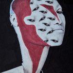 I volti deformati nei collage di Lola Dupre | Collater.al evd