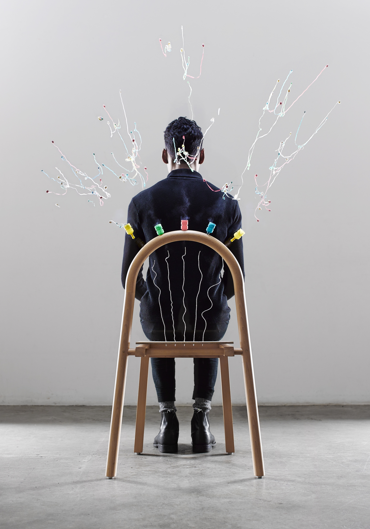 Josie, the chair that pops | Collater.al 3