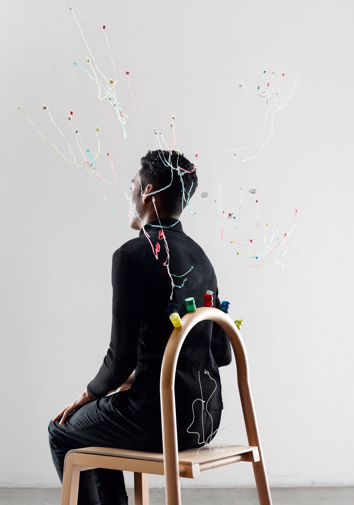 Josie, the chair that pops | Collater.al 7