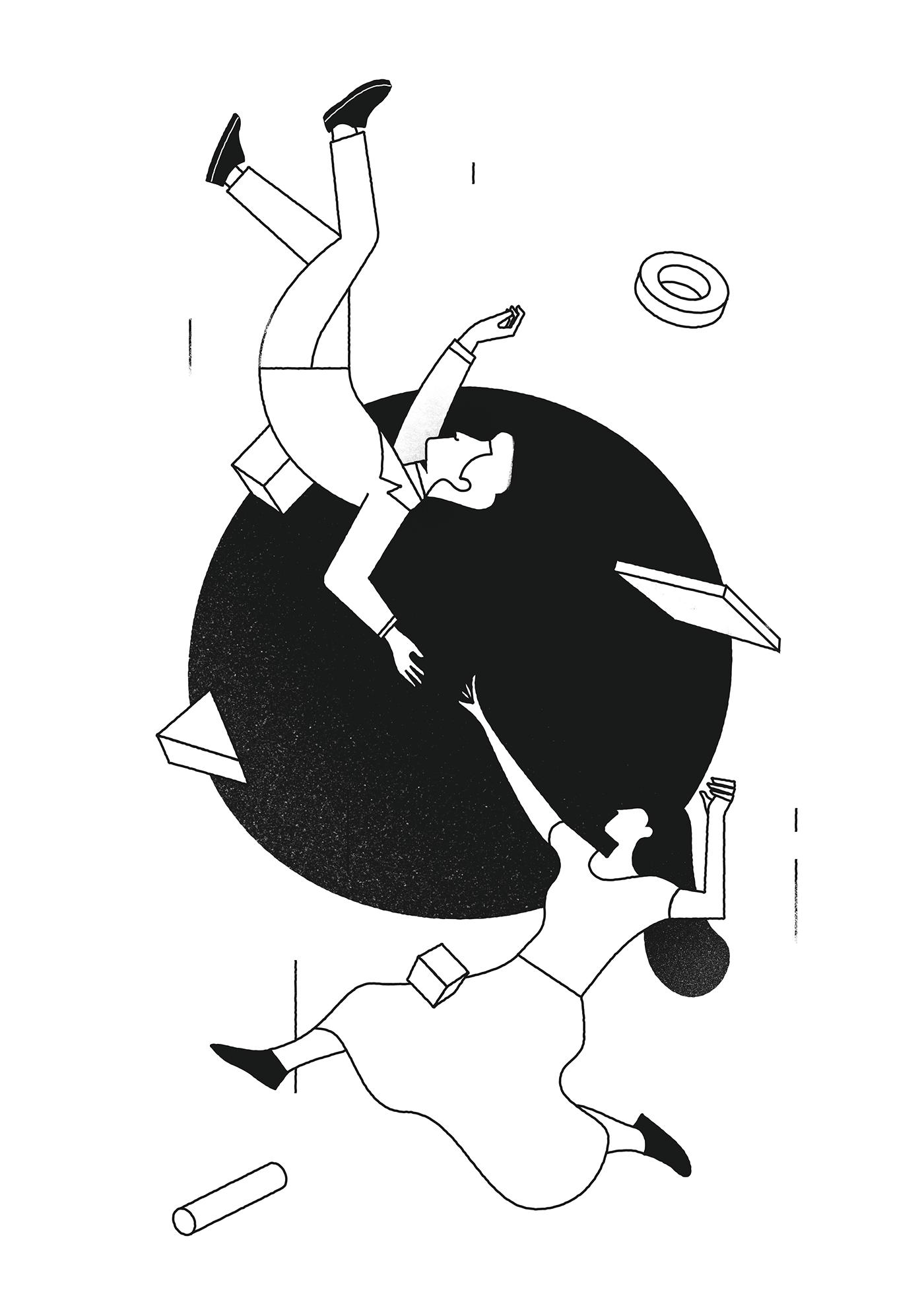 Le eleganti illustrazioni di Timo Kuilder | Collater.al 16