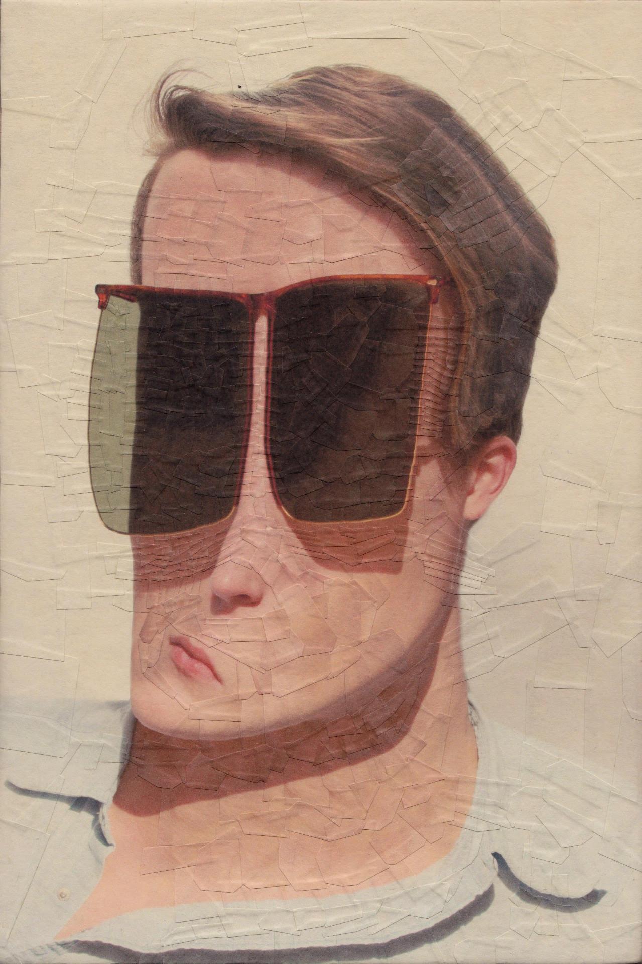 Gli incredibili volti deformati nei collage di Lola Dupre | Collater.al