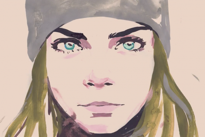 The new animated CHANEL film with Cara Delevingne