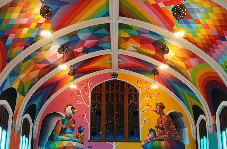 The International Church of Cannabis by Okuda San Miguel