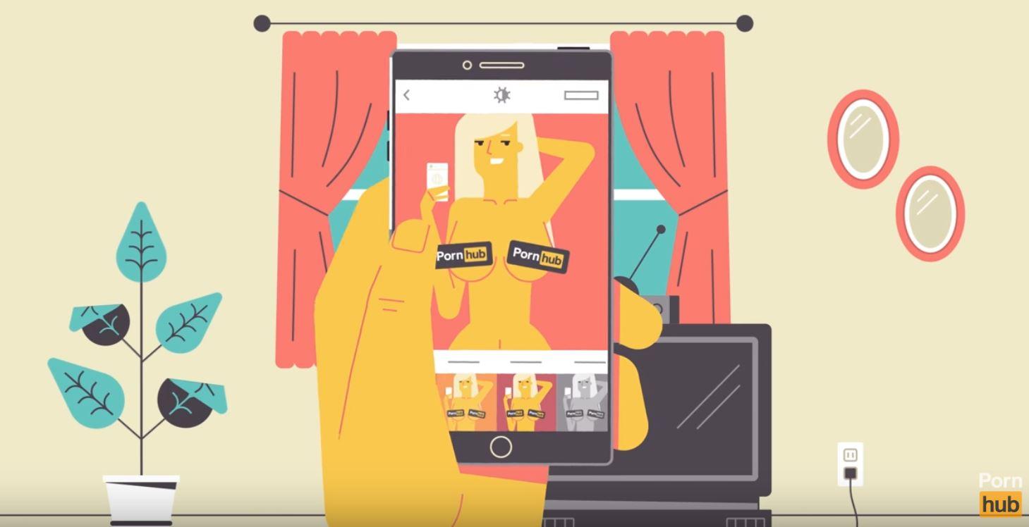 TrickPics, la nuova app di PornHub per inviare i vostri nudi in sicurezza | Collater.al
