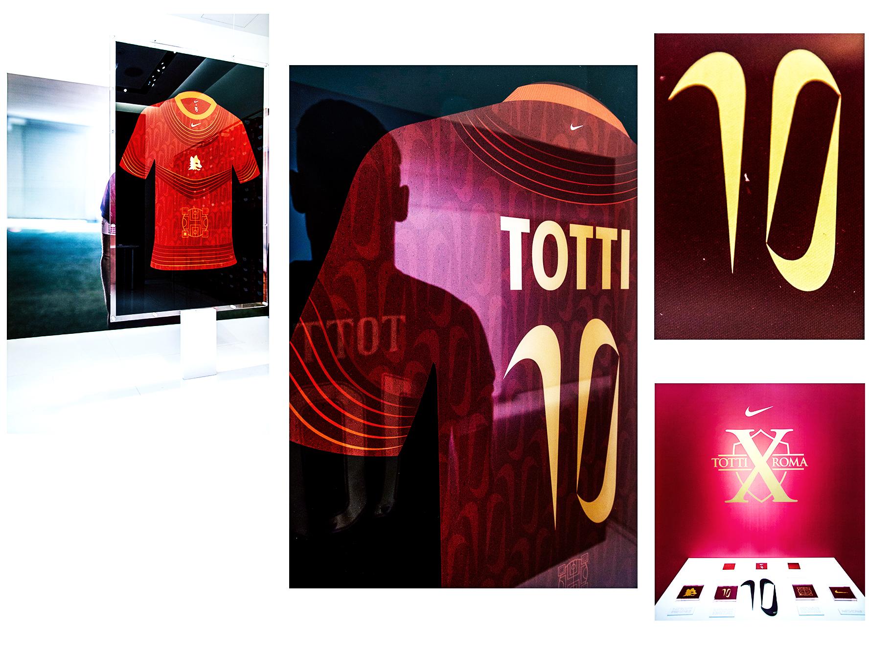 Tiempo Totti X Roma - Day 1 - Design: la jersey del futuro | Collater.al