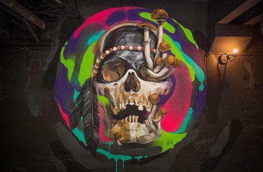 The interactive graffiti of the Brain Mash studio