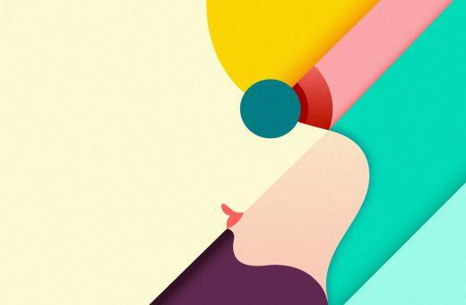 Le illustrazioni geometriche di Ray Oranges