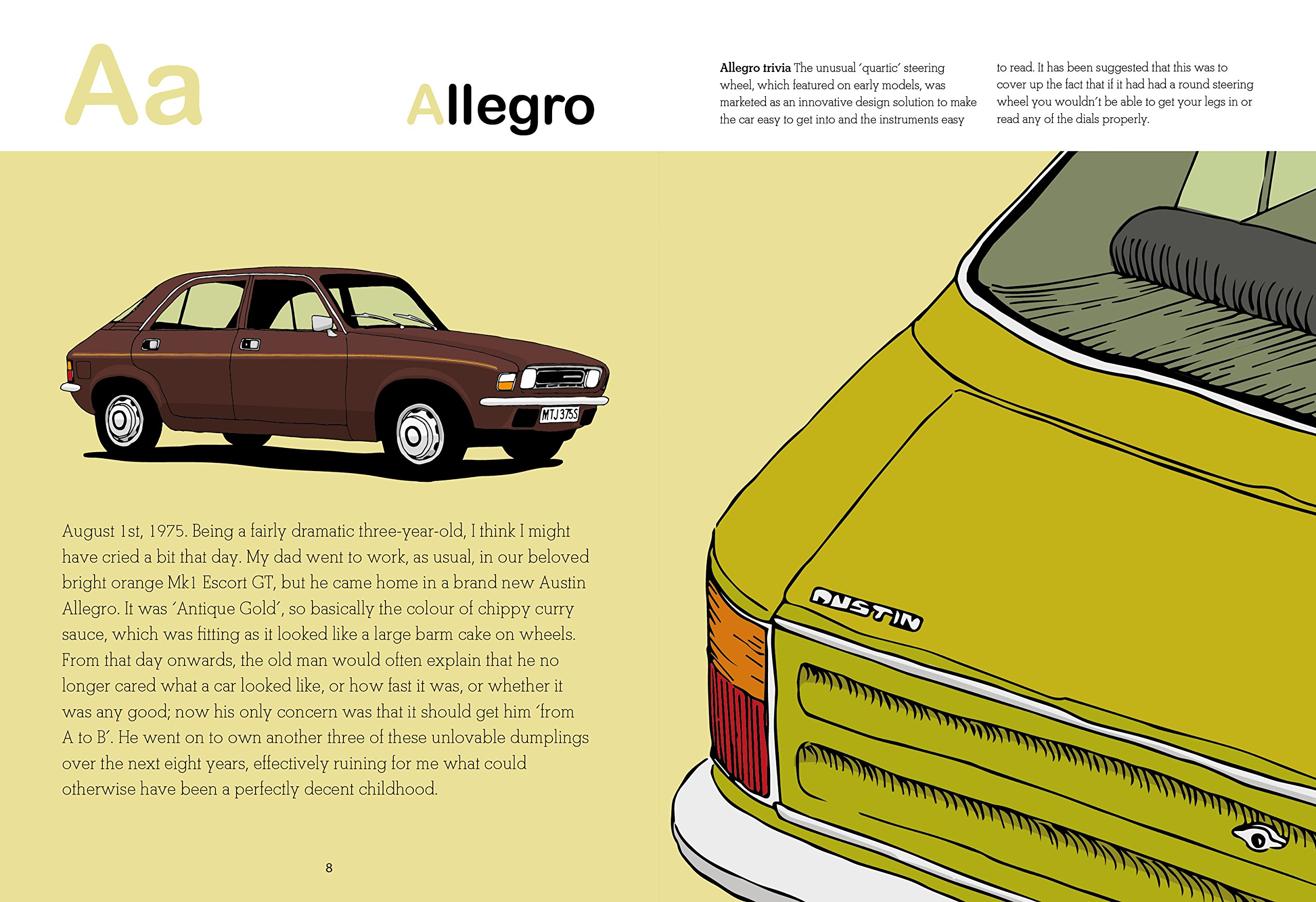A is for Allegro, l'alfabeto visuale di Roy McCarthy | Collater.al 1