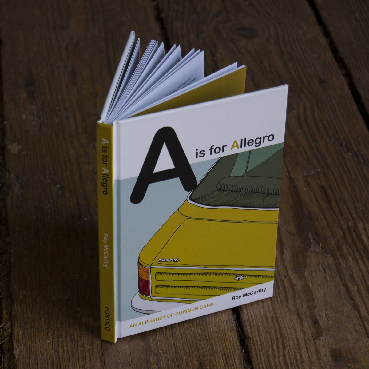 A is for Allegro, l'alfabeto visuale di Roy McCarthy | Collater.al 2
