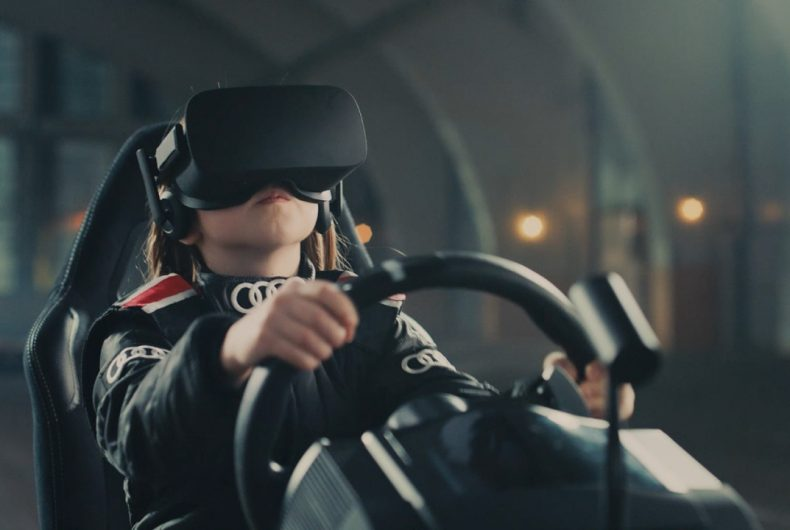 Audi Sandbox:  SUV Q5 meets virtual reality