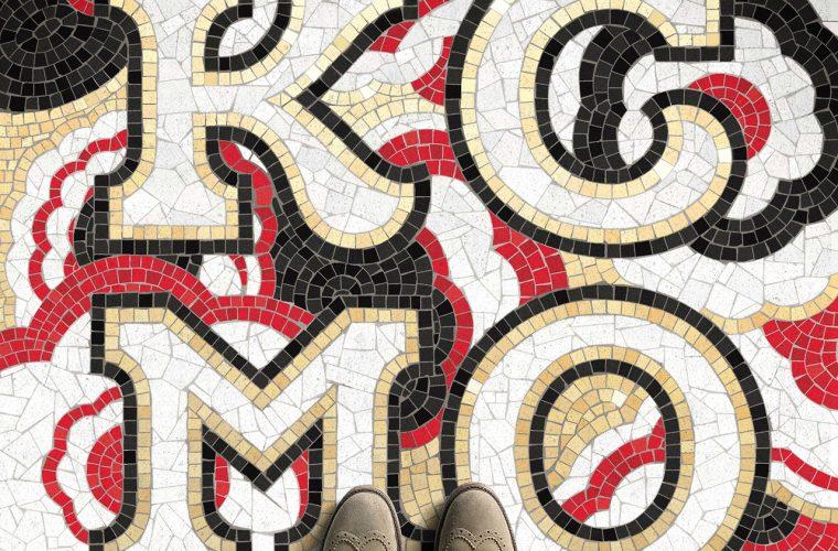 Fauxsaics, i mosaici tipografici di Nick Misani