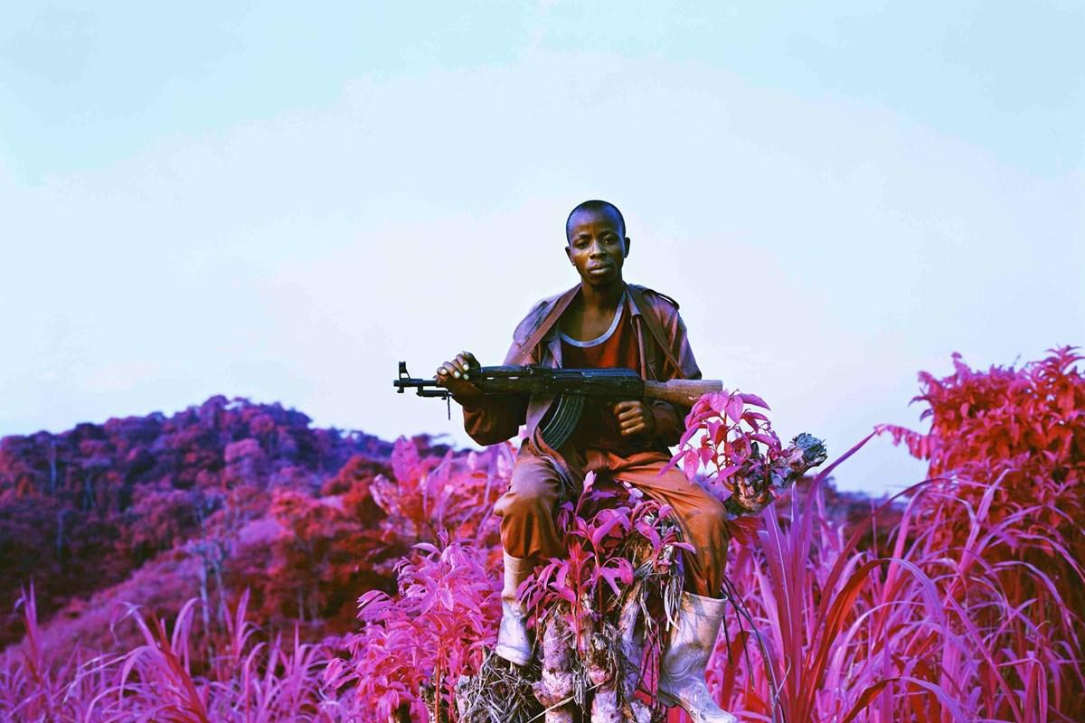 Richard Mosse - Guerra surreale - foto in rosa - enkster -cultura fotografica