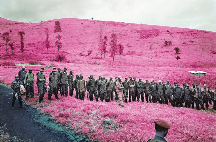 Infra, the surreal reportage of Richard Mosse