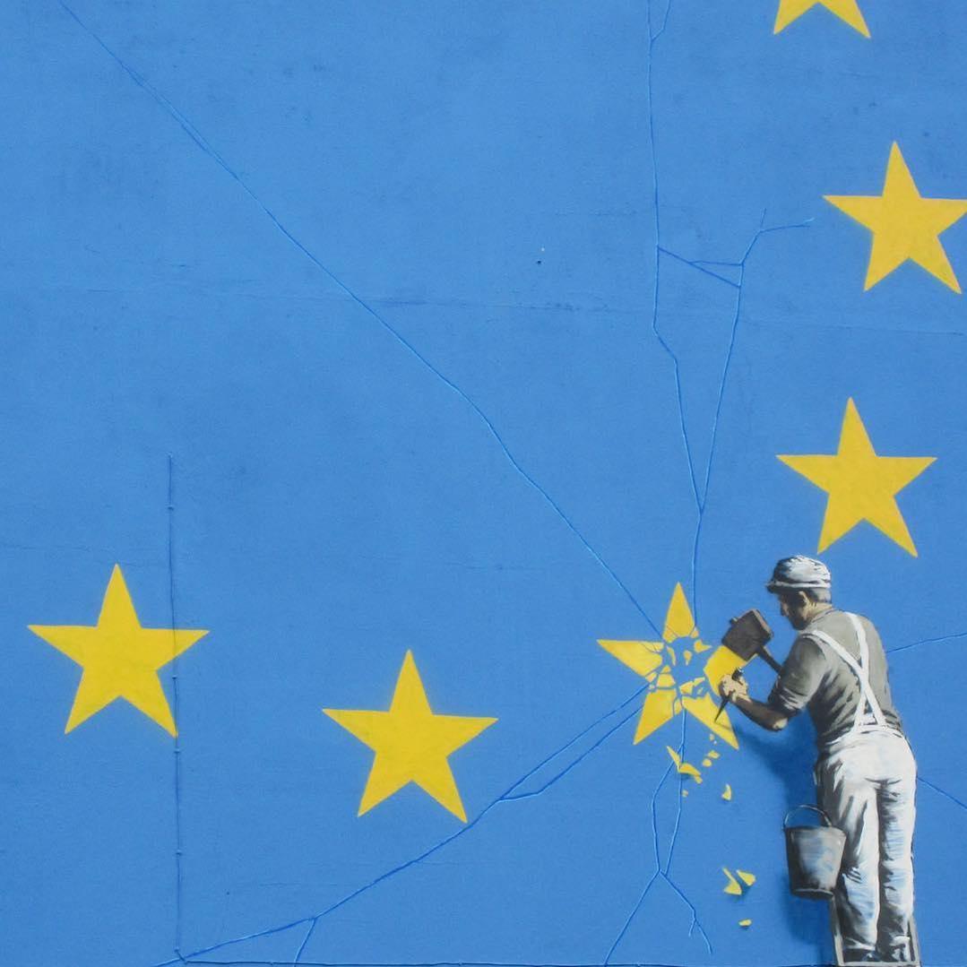 La Brexit nel nuovo murales di Banksy a Dover | Collater.al