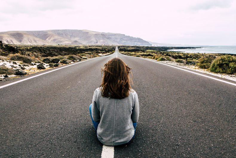 Le strade deserte di Lanzarote