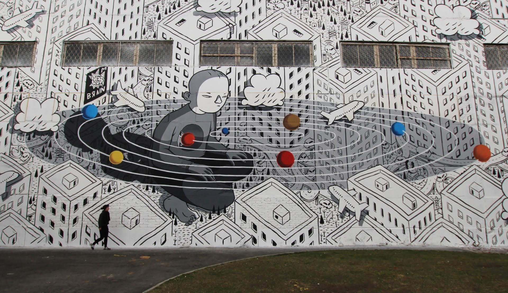 Rivoluzione, l'ultimo murales di Millo in Russia | Collater.al 2