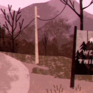Short video for Breakfast – intro di Twin Peaks illustrato da Pakoto | Collater.al