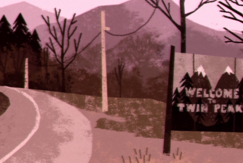 Short video for Breakfast – L'intro di Twin Peaks animato per rendere omaggio a David Lynch