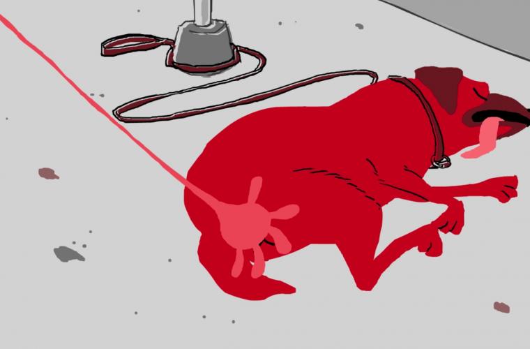 Short video for Breakfast – Sticky Hand, la mano assassina di Brent Sievers