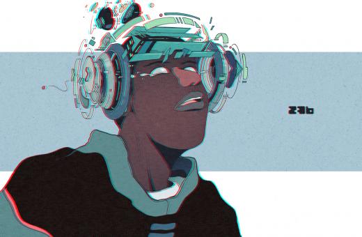 Le illustrazioni Sci-Fi di Daniel Isles aka DirtyRobot