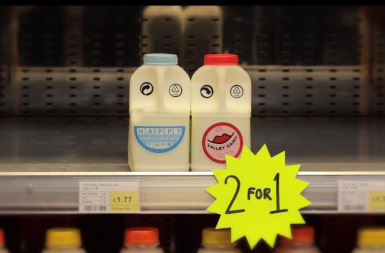 Short video for Breakfast – A Love Story in Milk, amori non convenzionali e salvaguardia del pianeta.