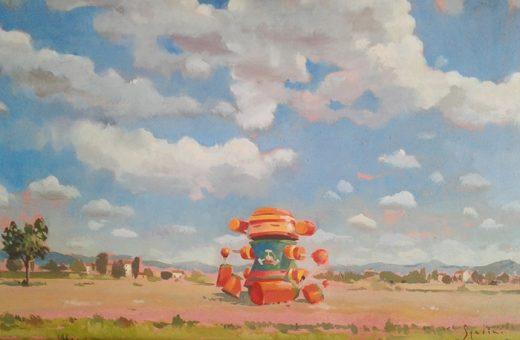Futuro Anteriore, i Robot dipinti ad olio di Fabrizio Spadini