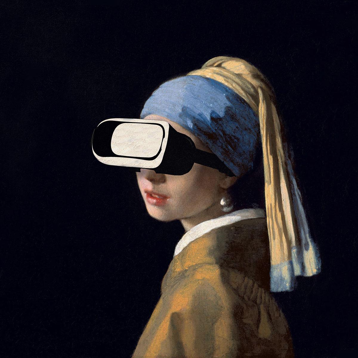 I collage di Nicholas Mottola Jacobsen che mixano moda e opere pittoriche | Collater.al