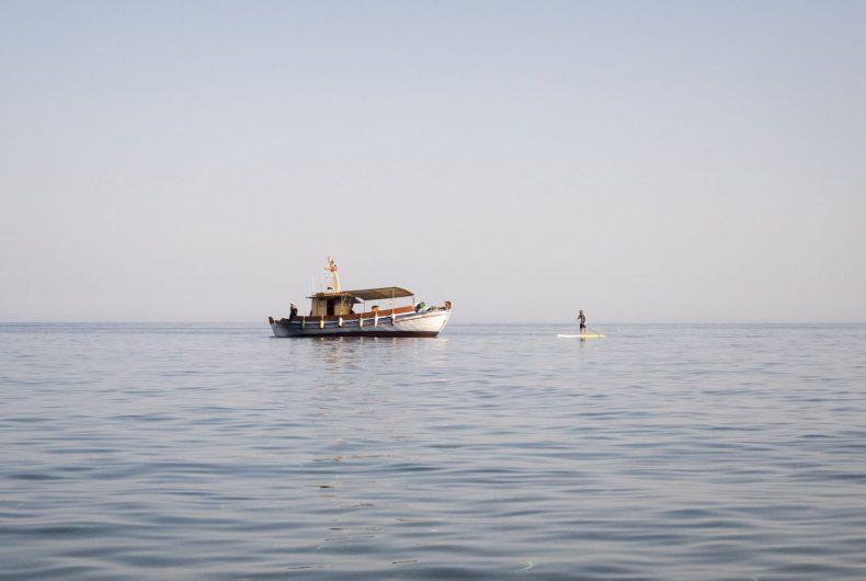 Santorini, l'isola spot