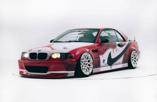 La BMW M3 customizzata con il colour scheme delle Nike Air Jordan 1 Chicago