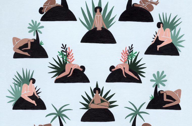 Laura Berger's illustrations exploring the connections between men