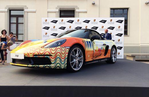 Porsche e NABA, un progetto ispirato dalla Porsche di Janis Joplin dipinta da Dave Richards