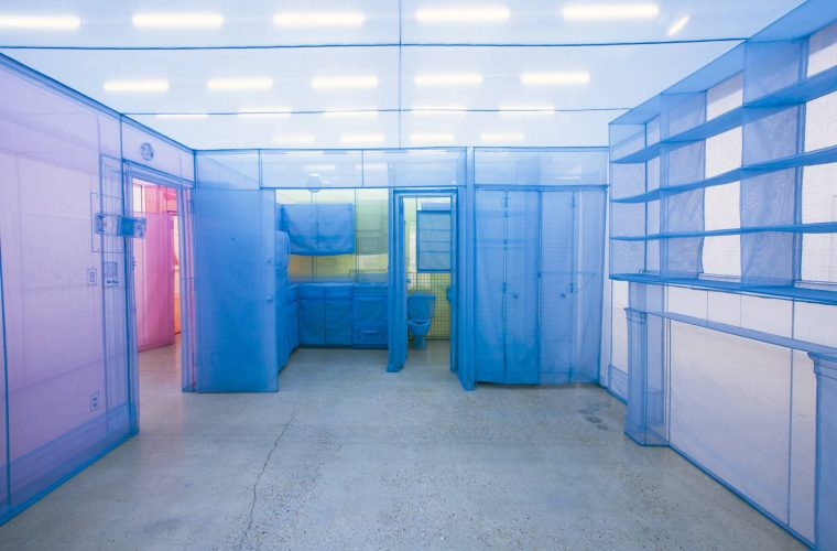 Home Within Home, Do Ho Suh'incredible transparent houses