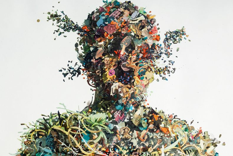Psychogeographies, i collages tridimensionali di Dustin Yellin