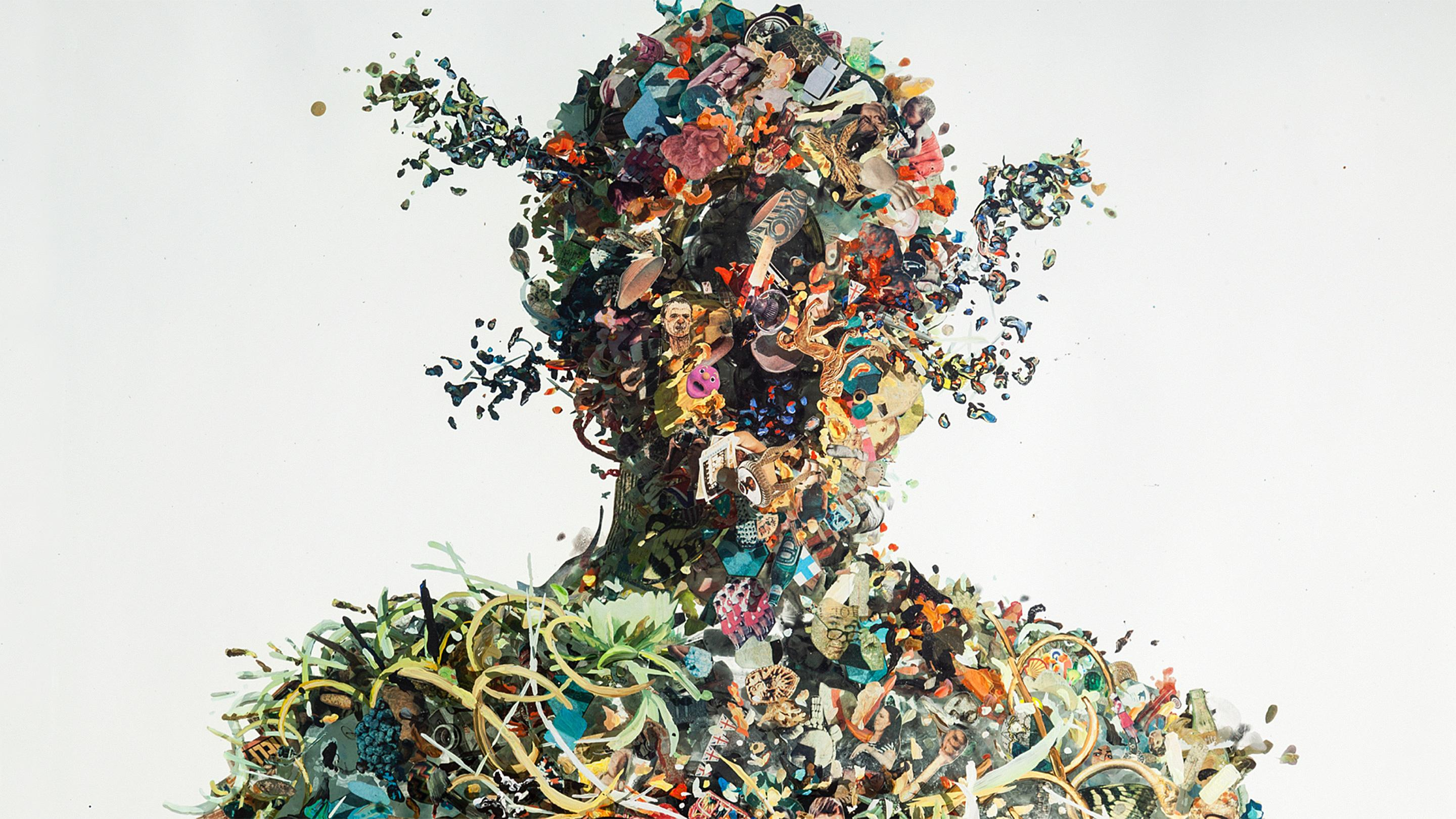 Psychogeographies, i collages tridimensionali di Dustin Yellin | Collater.al