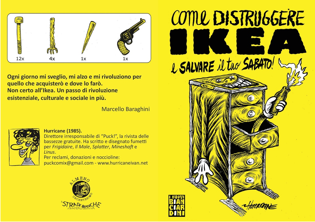 Come distruggere Ikea e salvare il tuo sabato, il libro illustrato di Hurricane Ivan | Collater.al