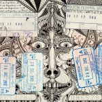 I passaporti pieni di doodles di Léonard Combier | Collater.al
