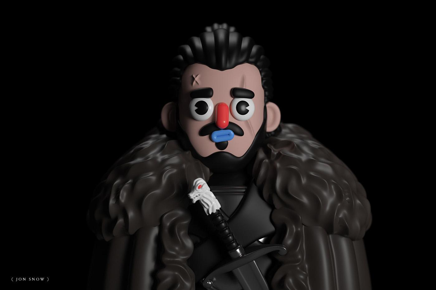I personaggi di Game of Thrones interpretati da El Grand Chamaco | Collater.al