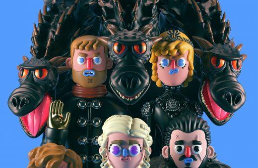 I personaggi di Game of Thrones interpretati da El Grand Chamaco